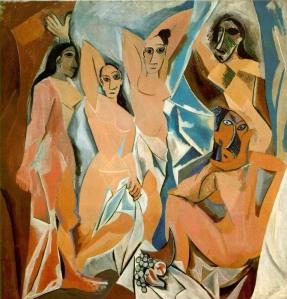 Pablo Picasso, Les Demoiselles d'Avignon, 1907, MoMa, New York
