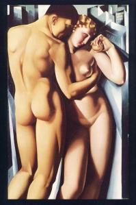 Tamara de Lempicka - 1932, Adamo ed Eva