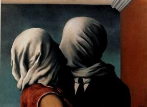 René Magritte, Gli amanti, 1928