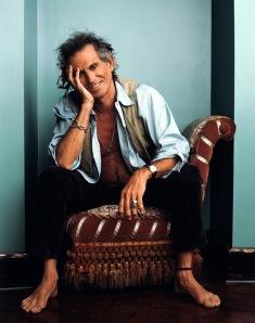 Keith Richards, fotografato da Deborah Feingold