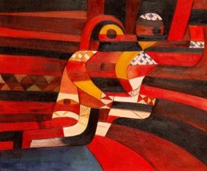 Paul Klee, The Lovers