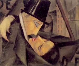 Tamara de Lempicka, Il bacio, 1922