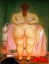 Fernando Botero, Donna che si spoglia